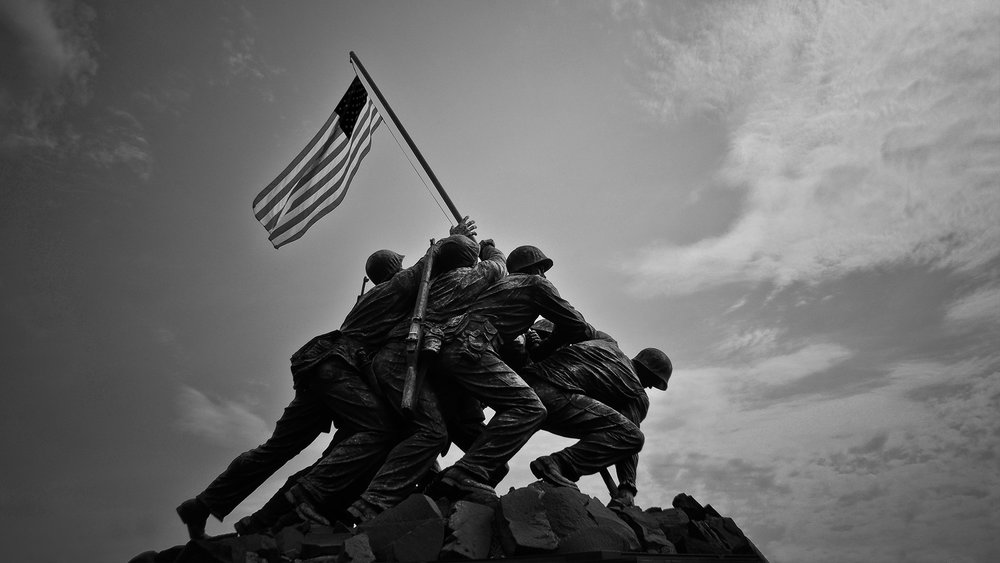 Iwo Jima Memorial, Arlington, Virginia