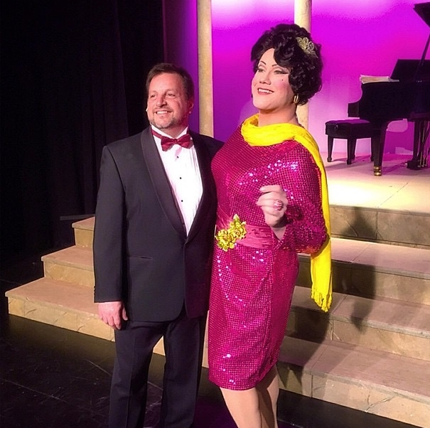 LA CAGE AUX FOLLES AS GEORGES AT STARSTRUCK THEATRE