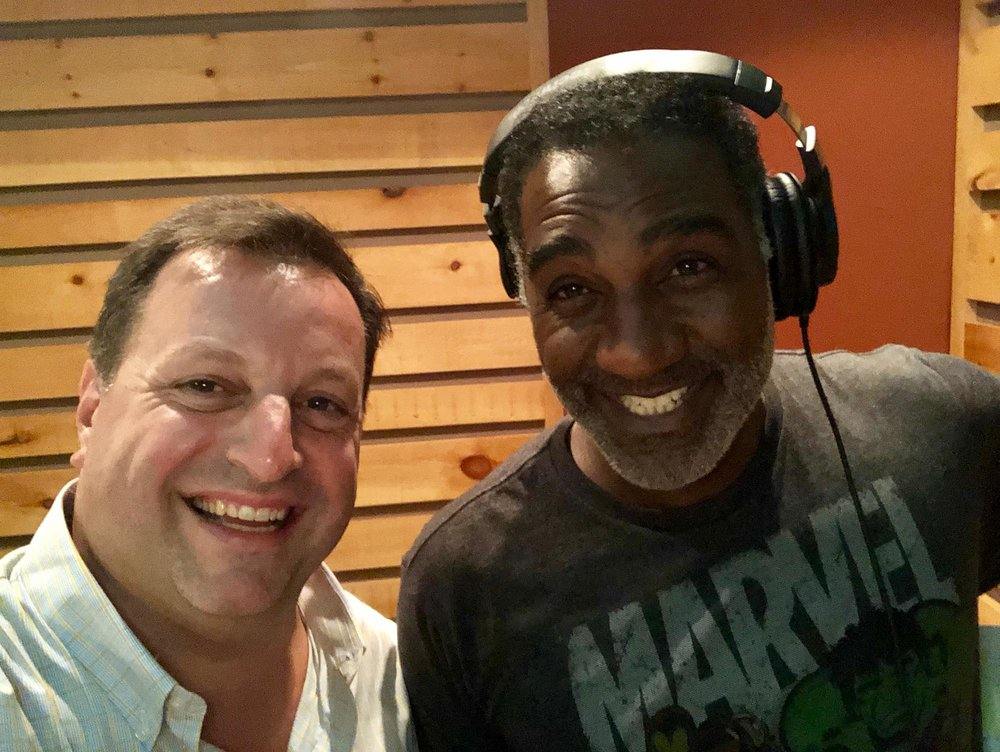 With Norm Lewis