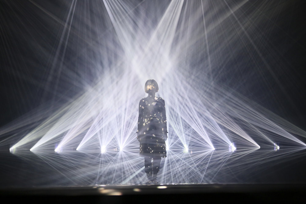 Daito Manabe's  Rhizomatiks Research x ELEVENPLAY choreographed by  MIKIKO