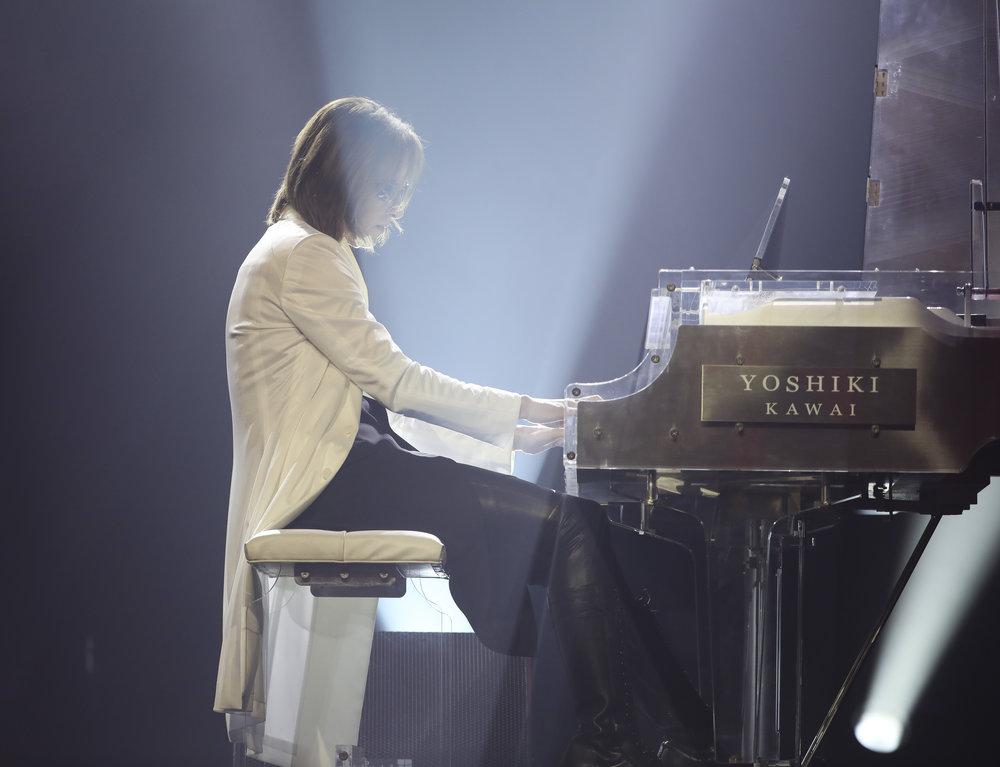 Special congratulatory performance by Japanese musician,  YOSHIKI