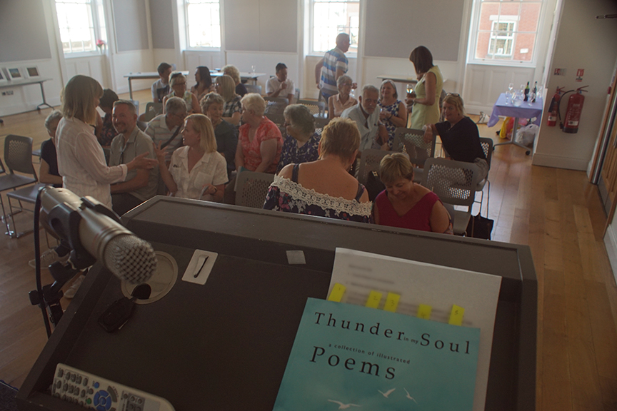 Thunder in my Soul book launch, Banbridge