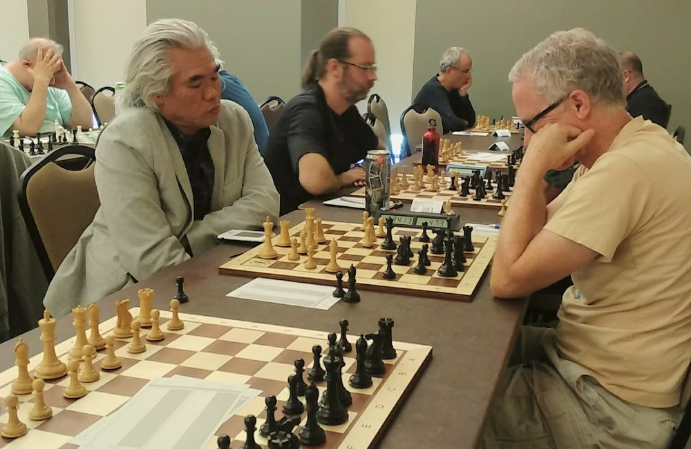2017 U.S. Senior Open in Northfield, MN, following the OleChess Camp