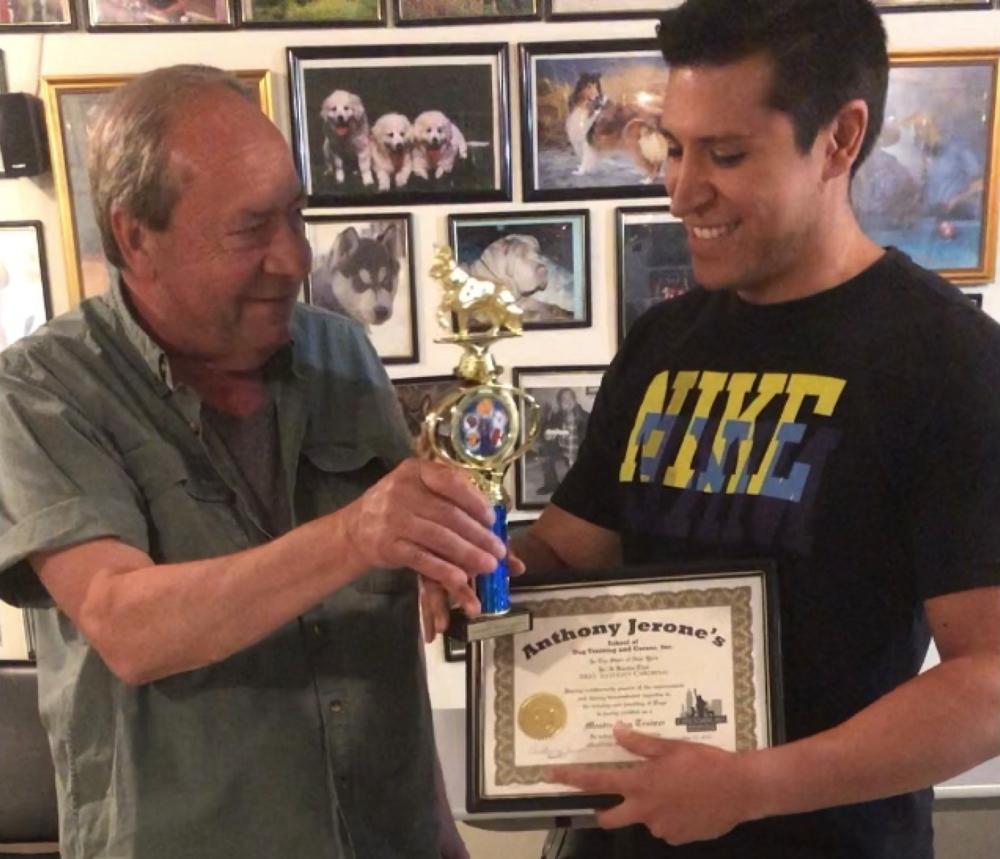 2018 Master Dog Trainer Anthony Jerone.png