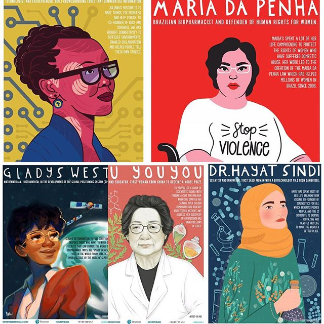 Happy International Women's Day! May we know them, may we be them, may we birth them, may we raise them up, may we listen to them, may we believe them! Over on www.girlgod.com are featuring these amazing women with posters to download for free with all of the info of their inspirational work. -Theres still so much work to do and we as women must stand together to raise our voices against discrimination, gender inequality, violence. This includes the birth world where women's voices are still not heard regarding their choices with even greater disparity in choice and care for women of colour who are still five times more likely to die in childbirth than their white counterparts. This has to end! -The theme for  the years International Women's Day is #balanceforbetter and you can join in on many of the activities, workshops and conferences around the world.  #julianarotich  #drhayatsindi  #tuyouyou  #mariadapenha  #girlgod  #internationalwomensday  #sisters  #raisewomenup  #believewomen