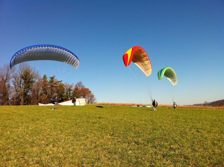 Paragliding and Paramotoring school in Pennsylvania BlueSky