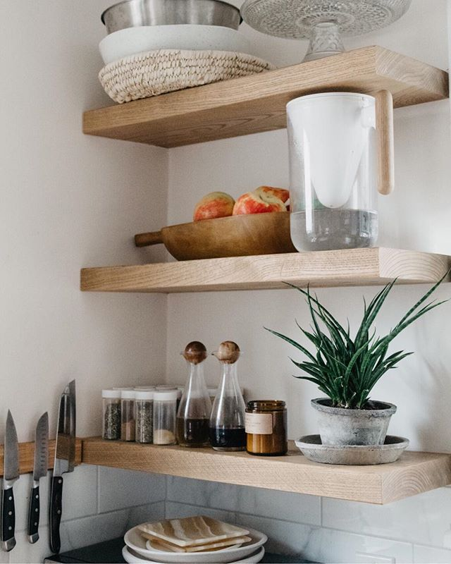 If you don't like open shelves...I don't know if we can be friends😝! They are one of my fav things about the casa!! Also, if you're looking items for your open shelf - Check out the link in the bio! 😘😘 . . Photo: @wildartifact  #acozycasa #simplystyleyourspace #urbanjungle #thatsdarling #dametraveler #cntraveler #airbnb #mytinyatlas #darlingescapes #inspiredinteriors #thedelightofdecor #gatheringslikethese #habitandhome #thisishome #welllived #passionpassport #myhousebeautiful #sodomino #apartmenttherapy #interiorinspo #homedecor #homestyling #theeverydaygirl #designsponge #homepolish #design #interiors #makingmyhaven