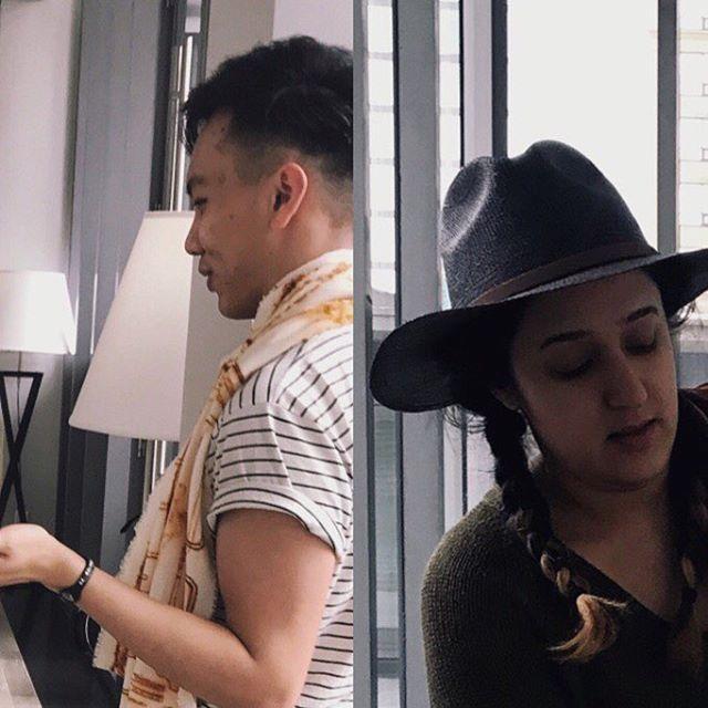 ✈️ #Wanderer TODAY! . . MASS EXODUS Daniels Spectrum, 585 Dundas St. E, Toronto April 4th, 13:30 - 16:00 & 18:00 - 20:00 Free Event! . . @massexodus_ru #massexodus2018 Designer/stylist: @kaitlin.paulorodrigues . . #fashion #indigo #rust #fcad #fashiondesigner #textiles #wanderer #ryerson #toronto #dyeing #installation #explore #love #beautiful #me #style
