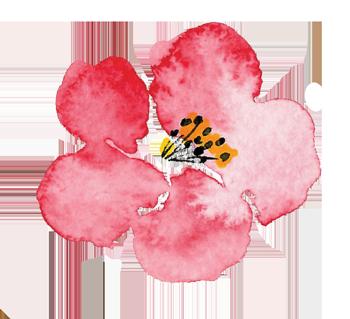 Luella Acres Logo Single Flower