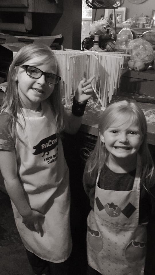 Marley & Savvy J love to be in the kitchen