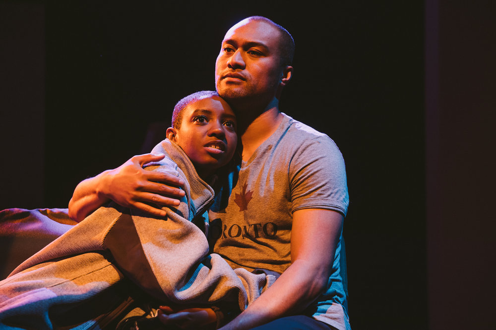 Photo by Mae Koo Photography.  Stefanee Martin and Napoleon Tavale in THE WILLOWS..JPG