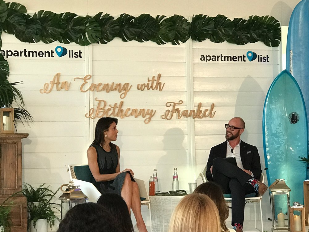 John interviews Bethenny Frankel, Real Housewife - May 2017 | As part of the Apartment Internet Marketing Conference, John interviews an amazing Bethenny in front of a rocking multifamily crowd.LINK