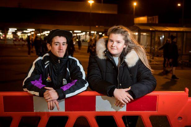 Streetsport volunteers: William McWilliam and Lauren Cran from Northfield, Aberdeen.
