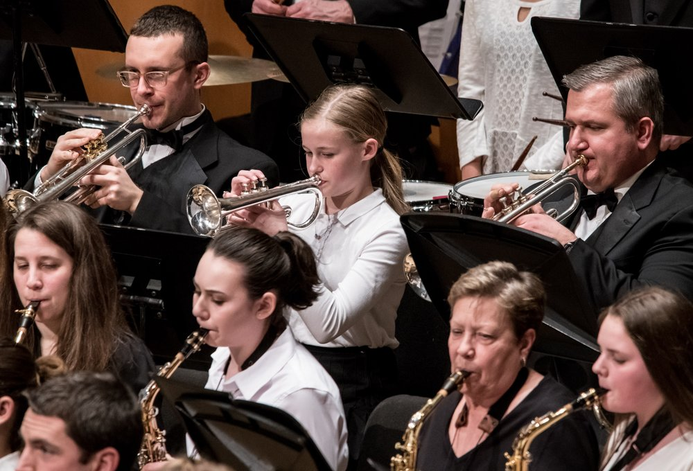 Northshore Concert Band 2018 Lifetime of Music - photo credit: Ralph Durham