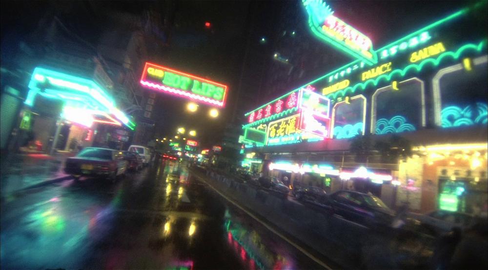 Director Wong Kar-Wai has a distinct visual style.