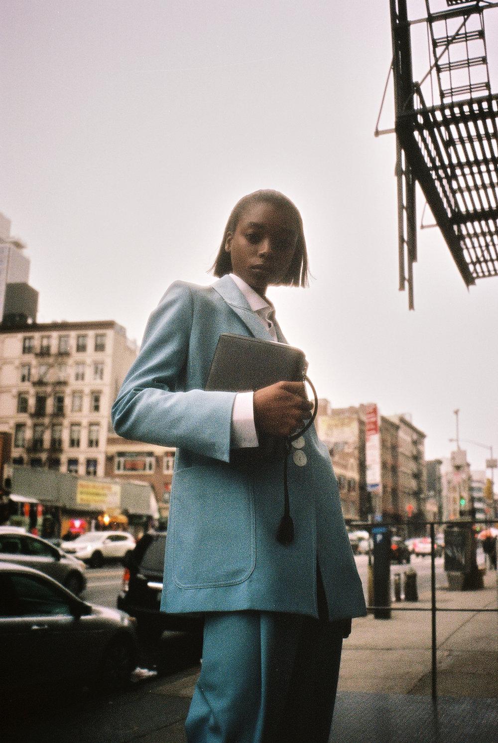 """girls about town"" - olivia anakwe & jay wright photographed by emon toufanian for v magazine"