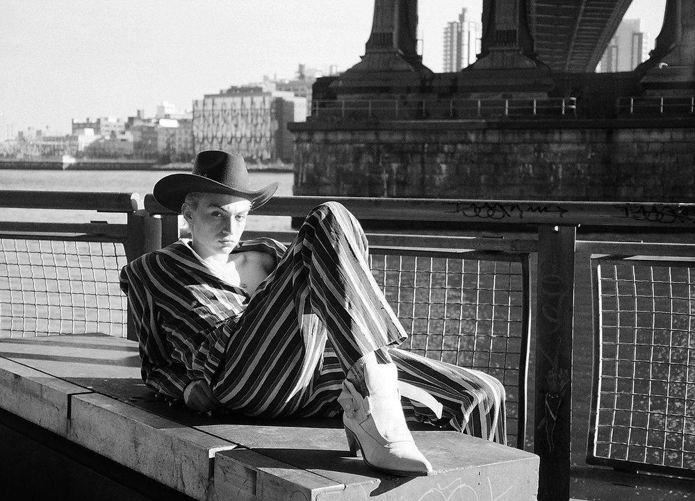 """""""young new york"""" - dallas sessoms photographed by angela baltra for man about town SS18"""