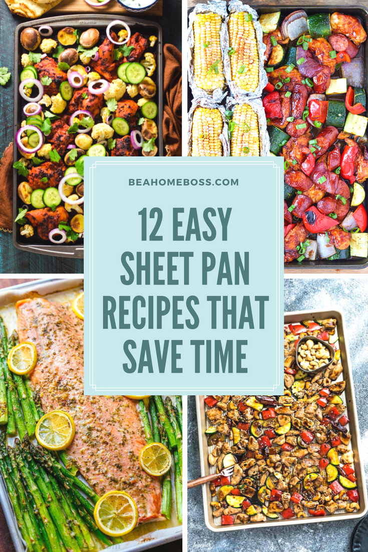 Save Time with these Sheet Pan Recipes — Home Boss