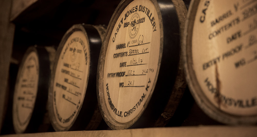 Casey's Barrel Cut gets its name and its flavor from premium oak charred barrels.