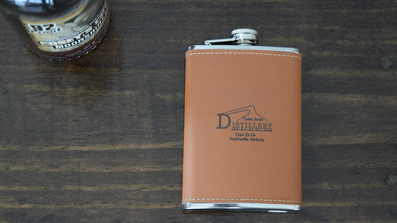 This Casey Jones Distillery flask is the perfect gift for the holidays!