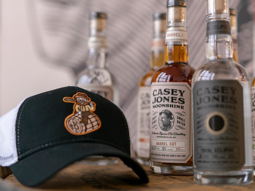 """A """"Bootlegger"""" team hat and your favorite moonshine."""