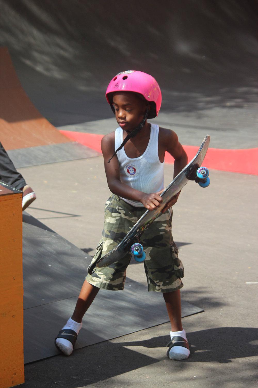 Wayfinding Skatepark Opening -