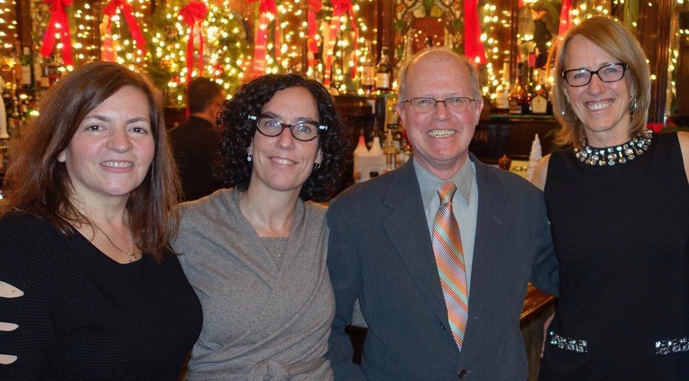 Dr. Kokotos, Dr. Ginsberg, Dr. Similon, and Dr. Luttinger