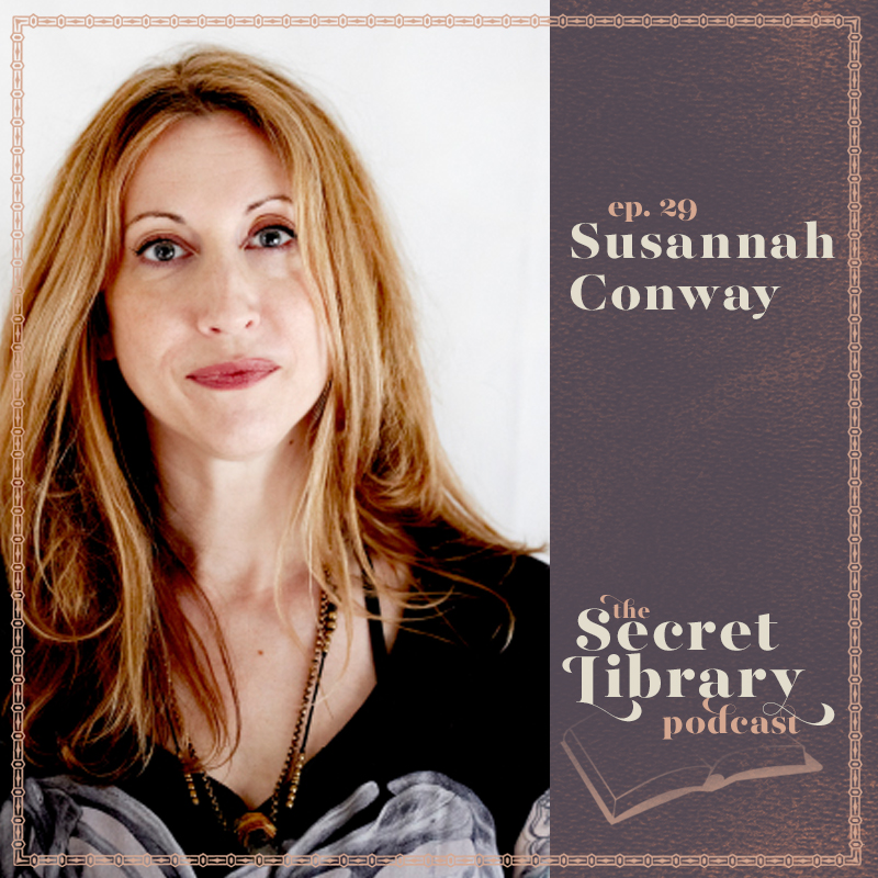 Susannah Conway | Secret library Podcast