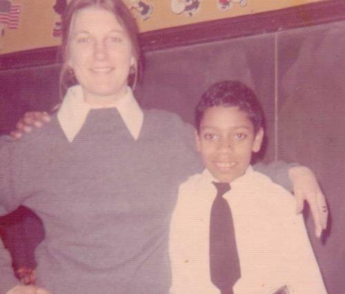 Daniel and Ms. Caroline Malinowski - One child, one teacher, two life changing words