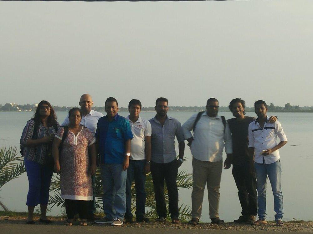 Sri Lankan Team in Batticaloa
