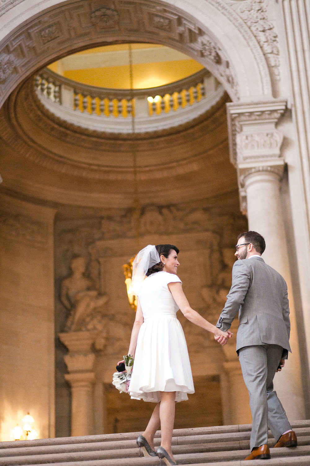Janelle & Jason - San Francisco City Hall