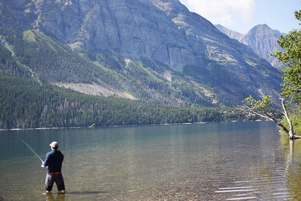 St. Marys Lake, Glacier National Park