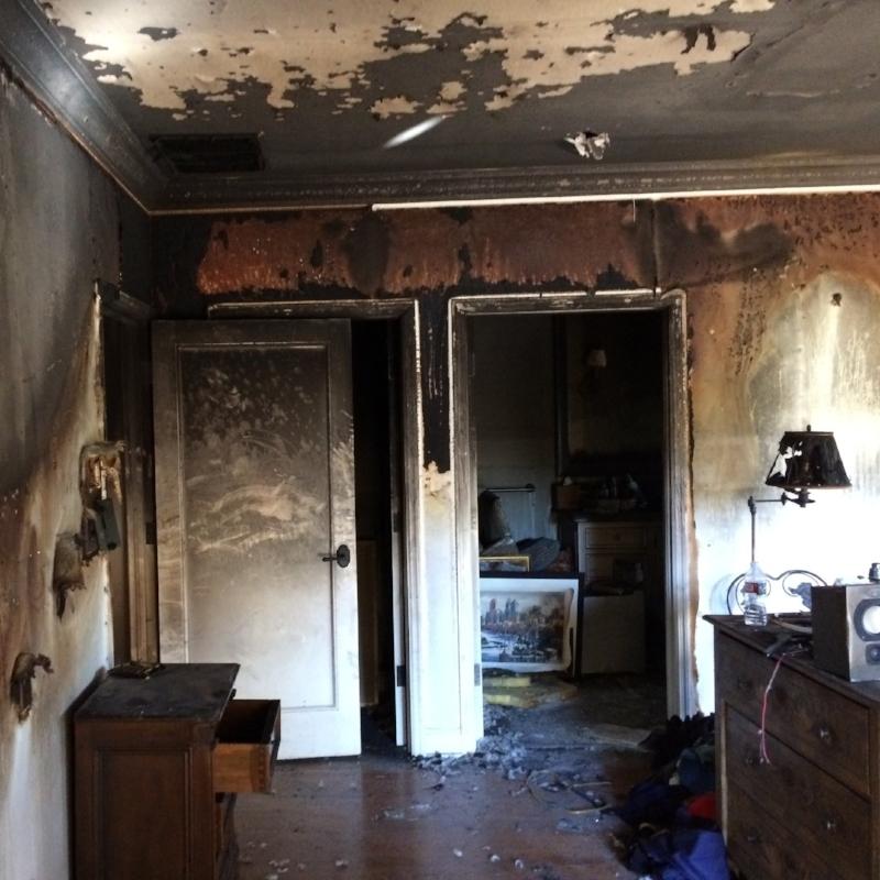 smoke damage orange county