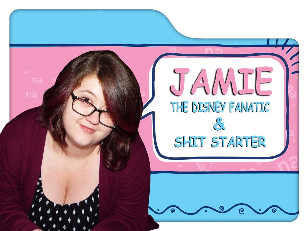 jamie - Jamie is the resident Disney nerd. Her favorite character is Stitch because of his adorable, but destructive personality (There are some similarities between the two).Shameless and The Handmaid's Tale are two of her favorite shows. She also has an undying love for Johnny Depp, musicals, and art. Jamie adds a little sass to the podcast and has no trouble putting Chris and Claudius in their places.