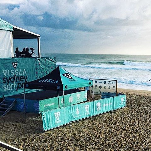 Thank you @visslasurf for your hospitality and putting on an incredible event, if your in manly make your way down and check out the red hot action, cheers again @johnshimooka @johnmossop #wesurf #supportinglocals