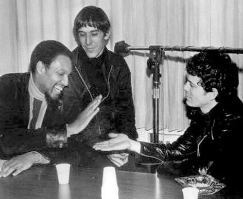 Wilson with John Cale and Lou Reed in 1968