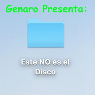 Genaro Presenta: Este NO Es El Disco   2018