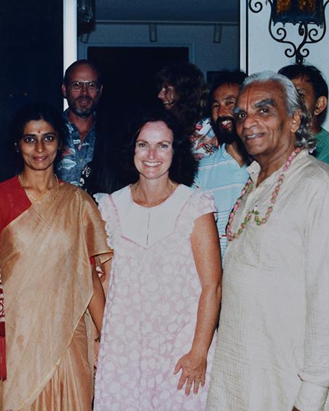 Neeta, Sandi & Guruji