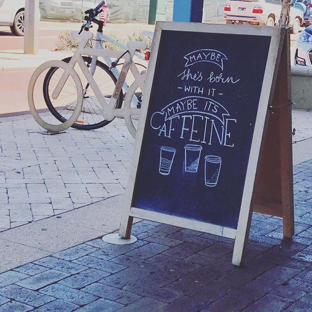 Today it's definitely the caffeine! ☕️ #saltdishcafe