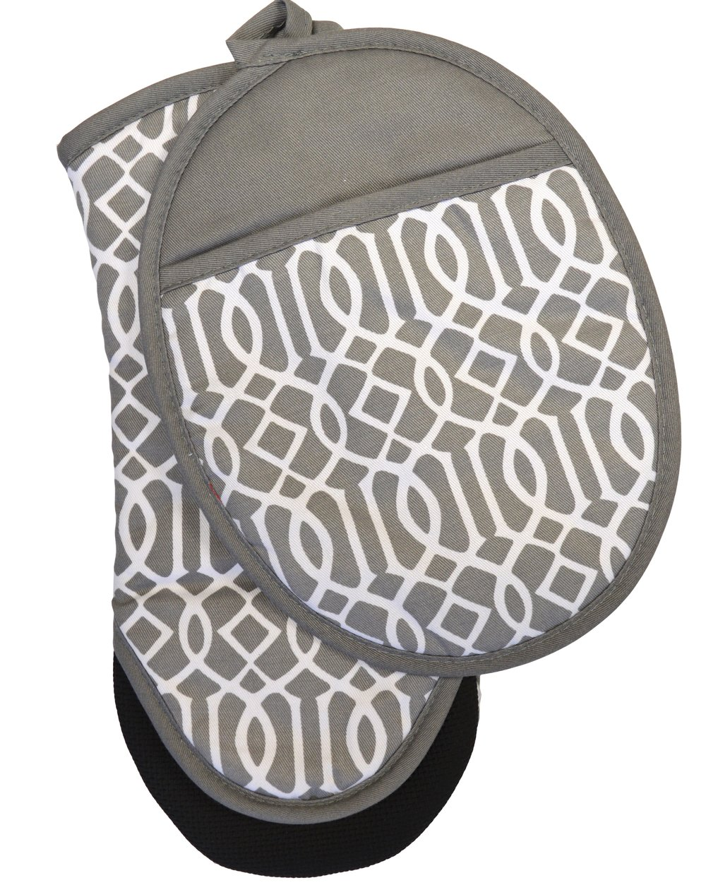 Print Geo Oven Mitt & Pot Holder Set