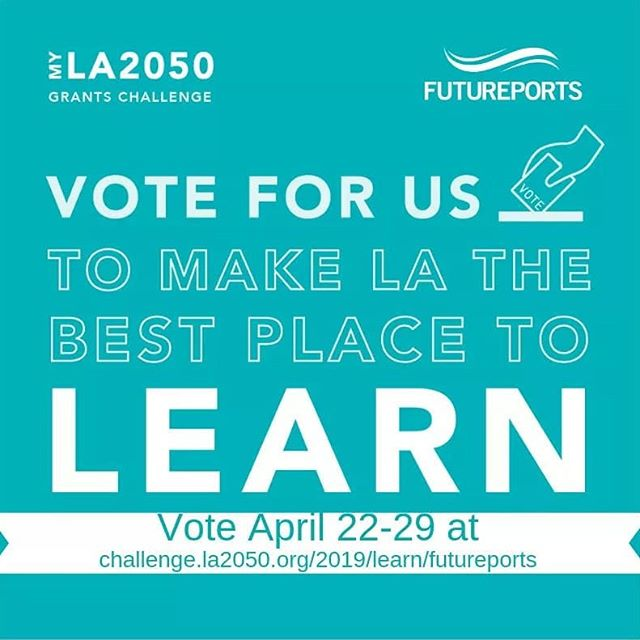 Your vote for our proposal would help FuturePorts to bring thousands of children to the @discoverycubela to learn about the importance of our Ports and the Supply Chain to our region! Click the link in our bio to vote at https://challenge.la2050.org/2019/learn/futureports/ @la2050 #MYLA2050GRANTSCHALLENGE #LA2050 #LEARN #VOTE