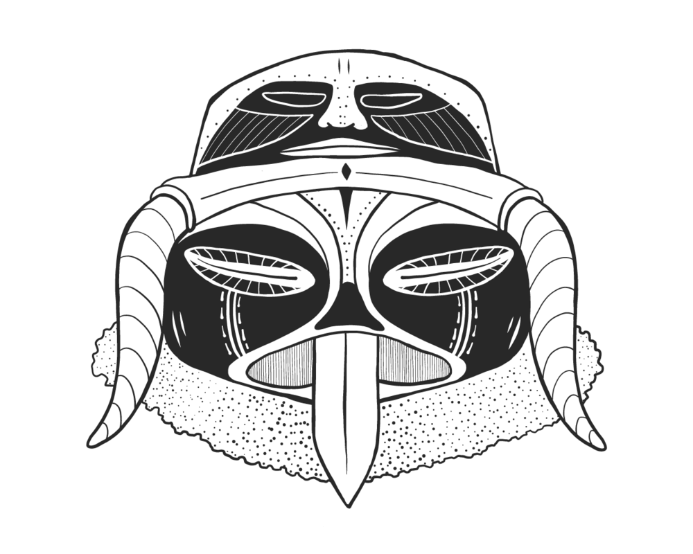 Double Headed Mask