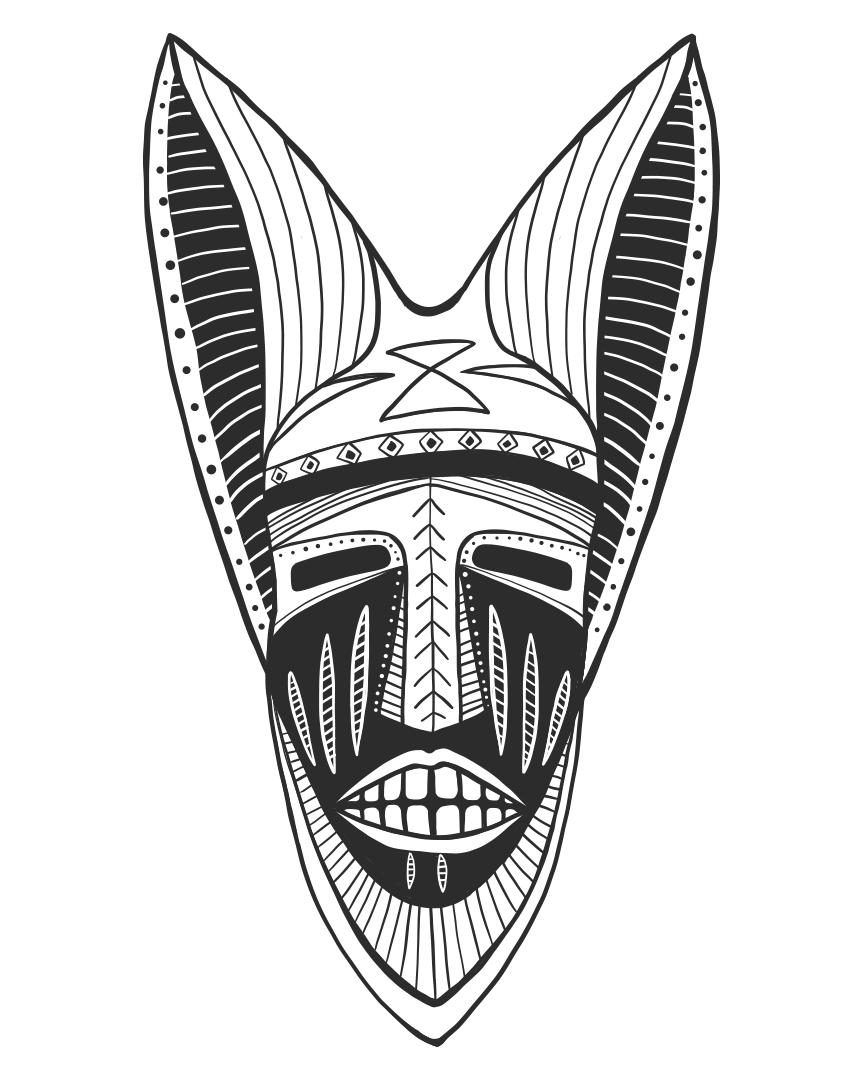 Mask with ears