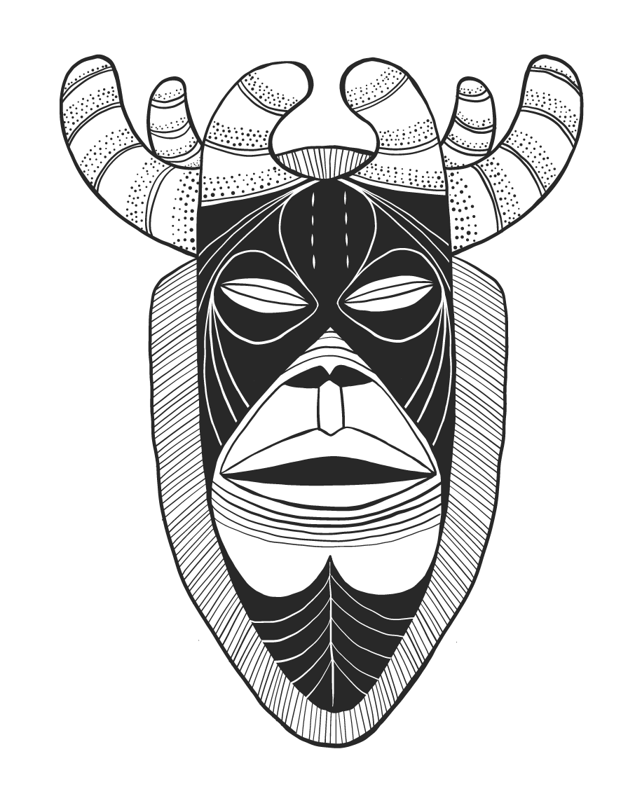 Stag Mask