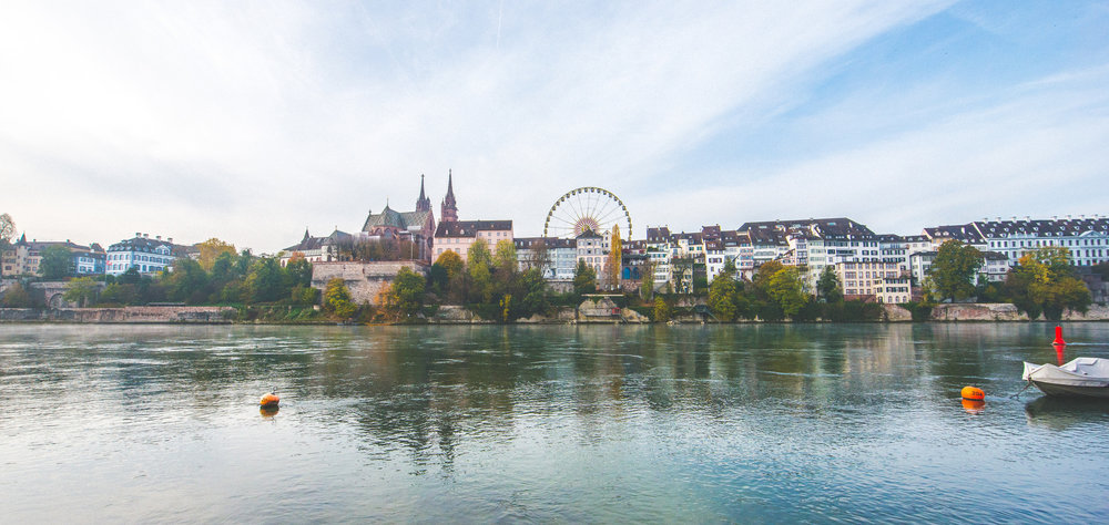 The Rhine. Basel, Switzerland. Photo: Stan Tsvirko