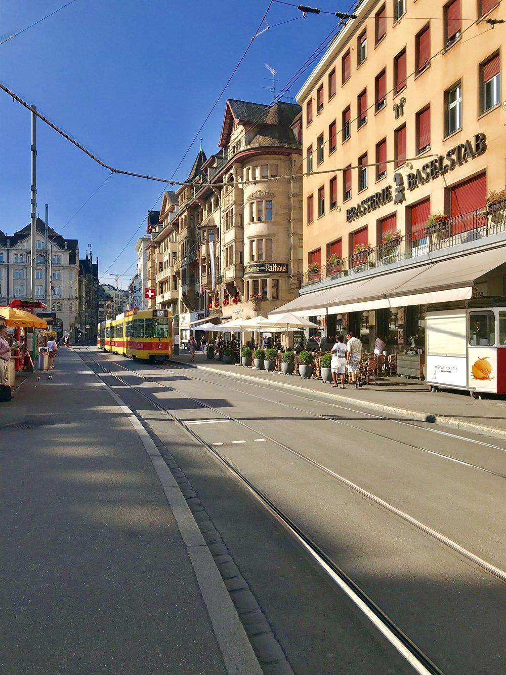 Marktplatz, Basel.Photo: Naomi Tsvirko