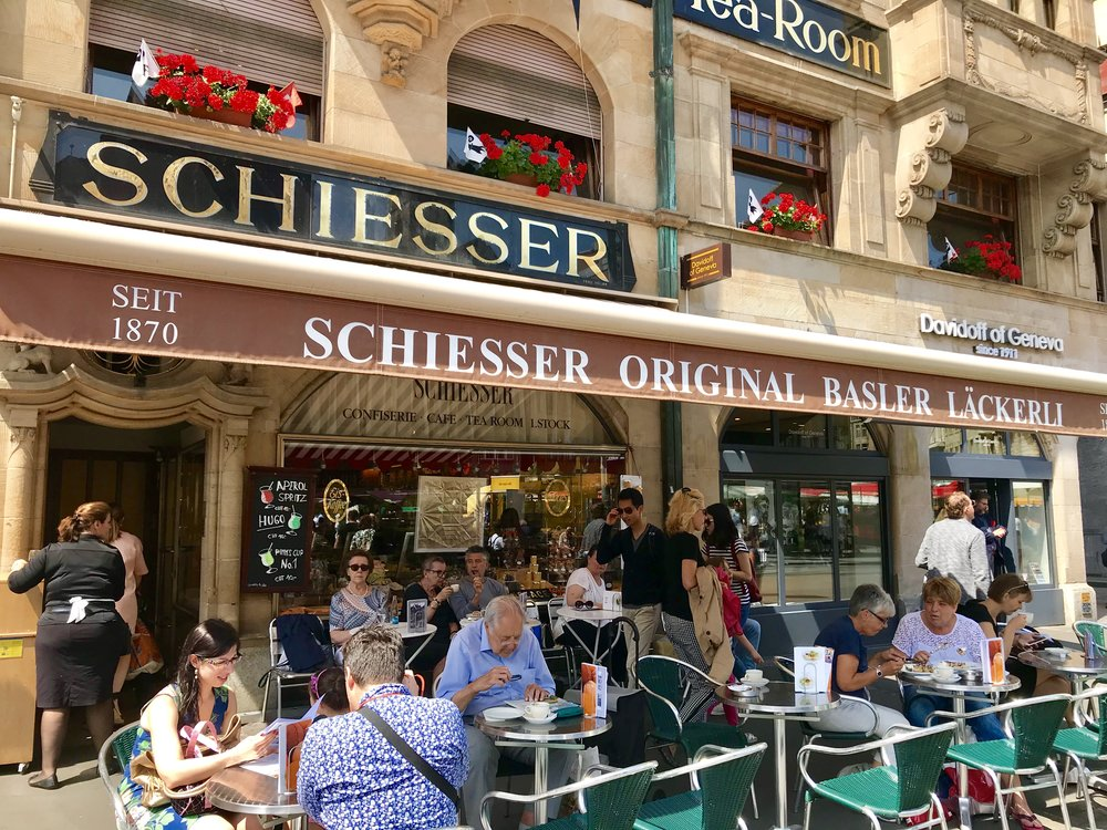 .Confiserie Schiesser, Basel.Photo: Naomi Tsvirko