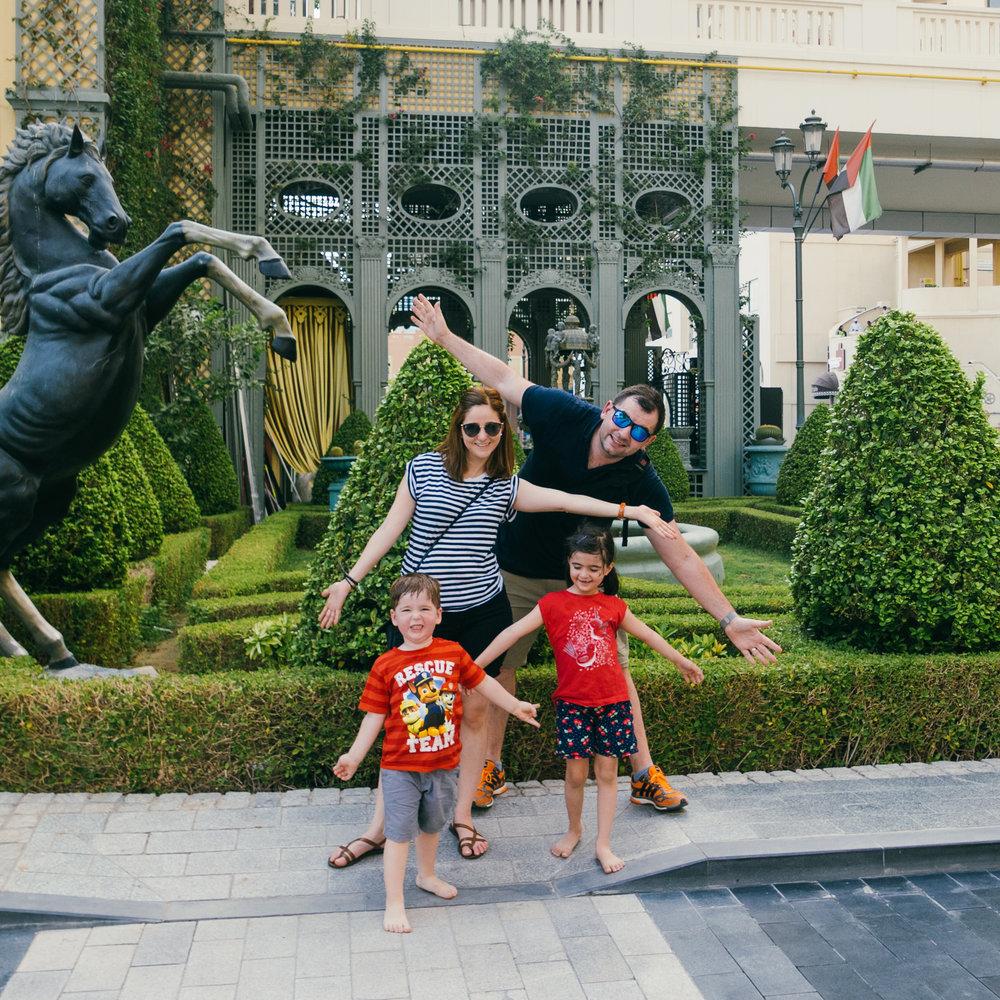 Family holiday. Dubai. Photo credit: Stan Tsvirko