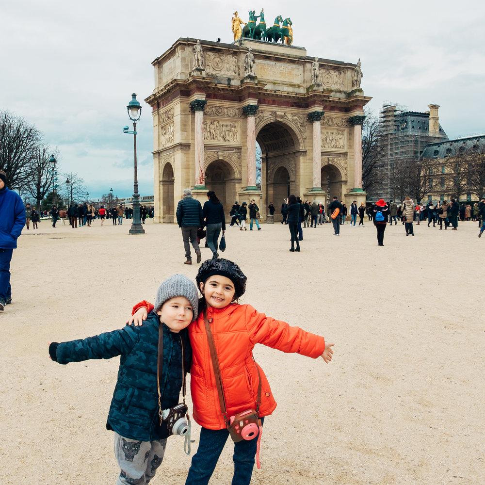 Paris with children. Photo credit: Stan Tsvirko