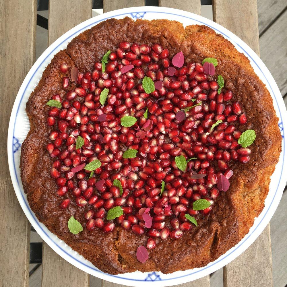 Denne kage smager himmelsk sødt og tilpas syrligt -